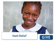 Giving Catalog - Haiti Relief