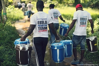 Prevention Teams Work to End Ebola