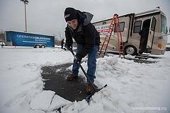 Snow Buddy Program Helps Hampton Roads