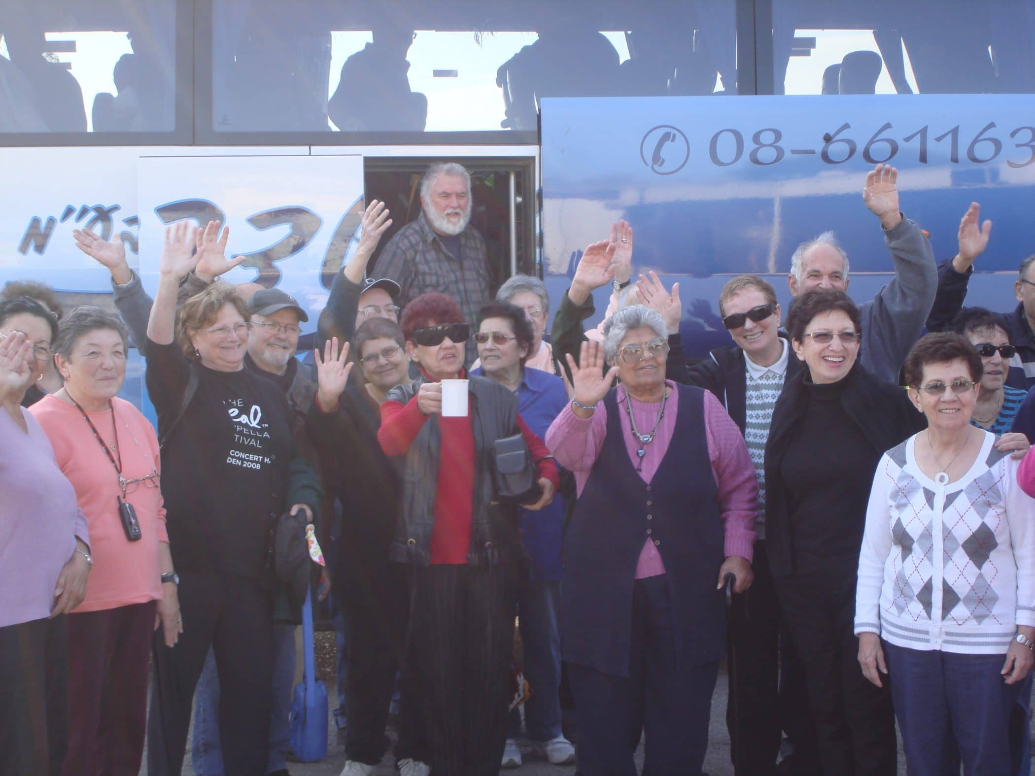Desptie the smiles and waves, this community of famers living just outside the Gaza Strip are fleeing a war zone.