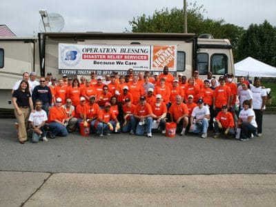 The Home Depot helps flood victims in Norfolk, VA