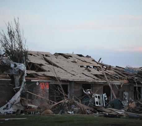 Devastation in Joplin.