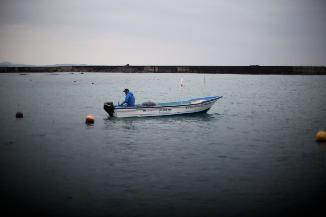 OBI donated boats to Japanese fishermen after the tsunami destroyed their industry.