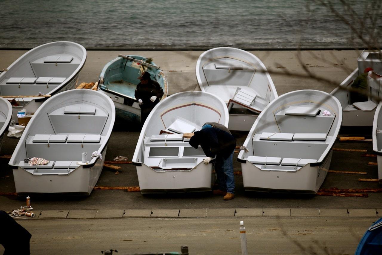 OBI boats arrive to Japan