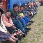 New shoes give hope to children in Peru