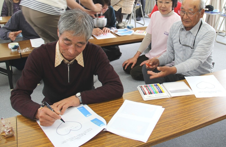 OBI heart care seminars help tsunami survivors struggling with PTSD.