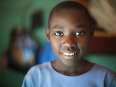 Mary is an orphan in Uganda benefiting from OBI programs there.