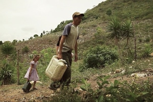 Misael's Family Walks for Water