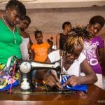 Sewing saves girls from the streets