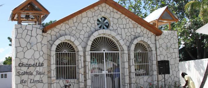 The new Chapel Saint Rose of Lima at Zanmi Beni.