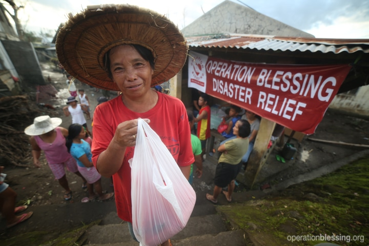 OBI disaster relief response in the Philippines.