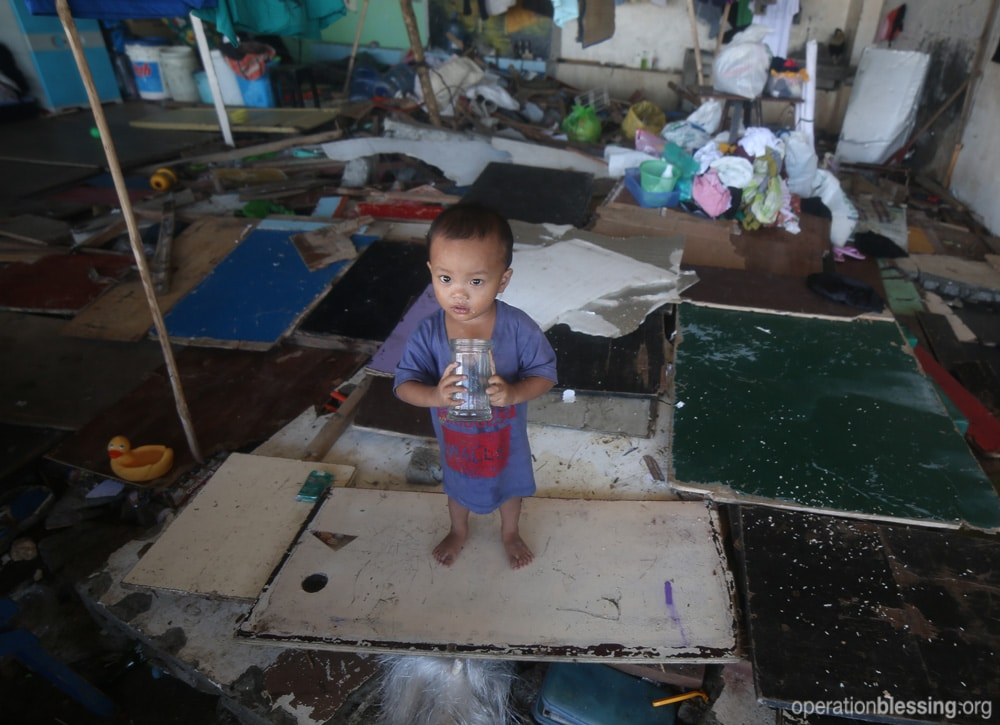 Devastation from Typhoon Haiyan