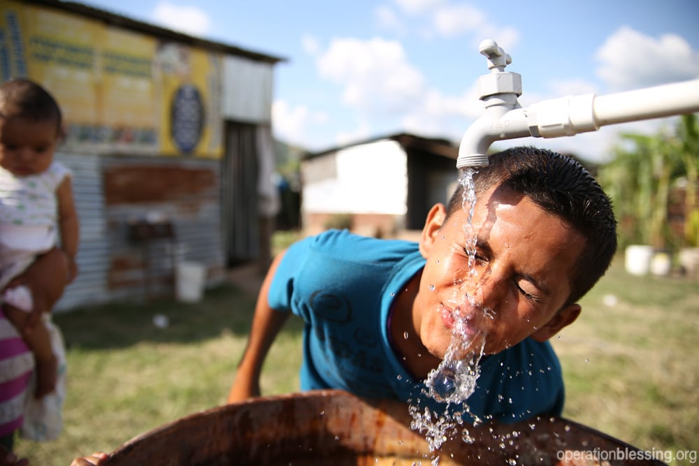 Safe water for a village in Honduras