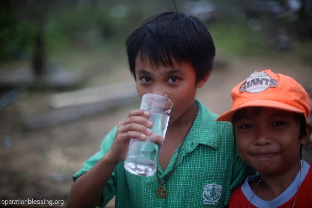 Safe water in the Pilippines