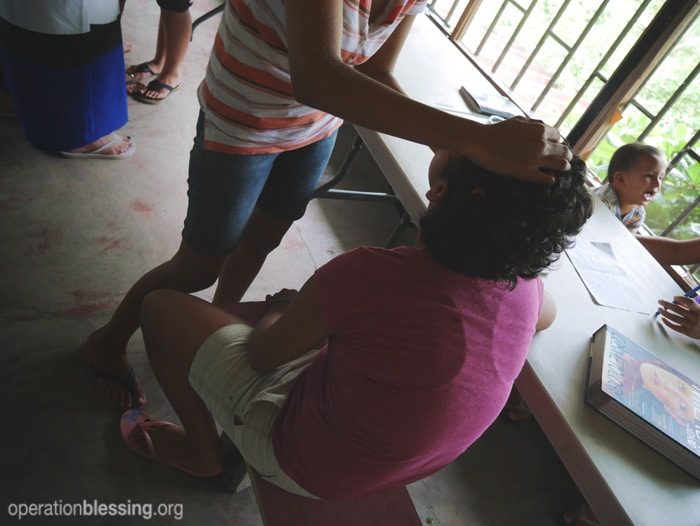 Trafficking victims in Costa Rica learn a marketable skill.