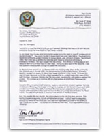 IN Emergency Management Letter