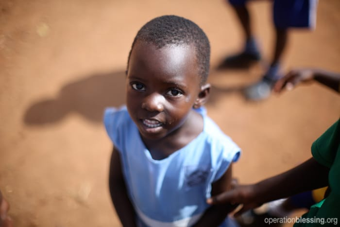 Operation Blessing aids children in Benin