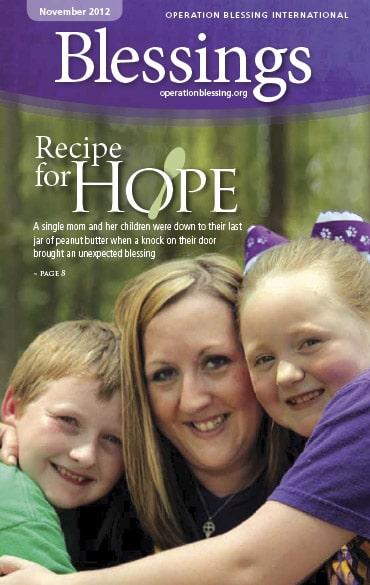 Recipe for hope - Blessings Magazine