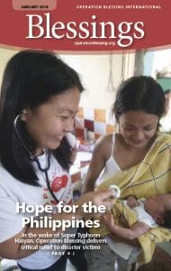 Hope for the Philippines – Blessings Magazine