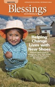 Helping Change Lives with New Shoes – Blessings Magazine