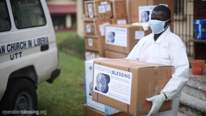 Supplies to fight Ebola virus in West Africa