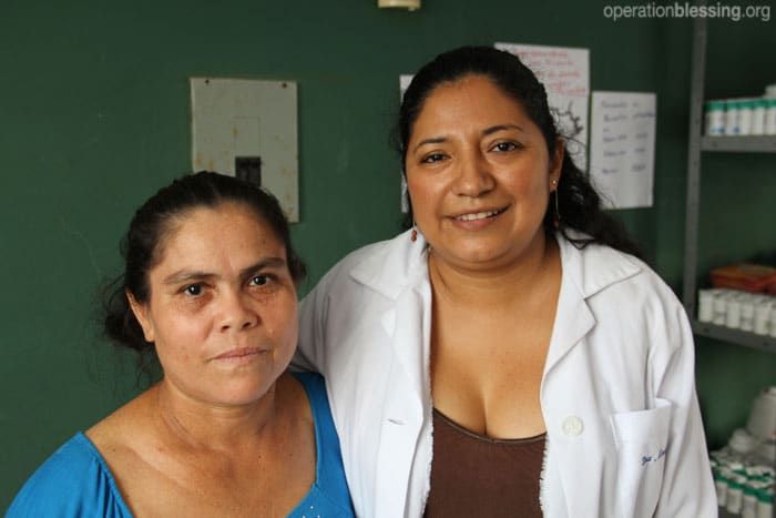 A free clinic helps Santos get her health back