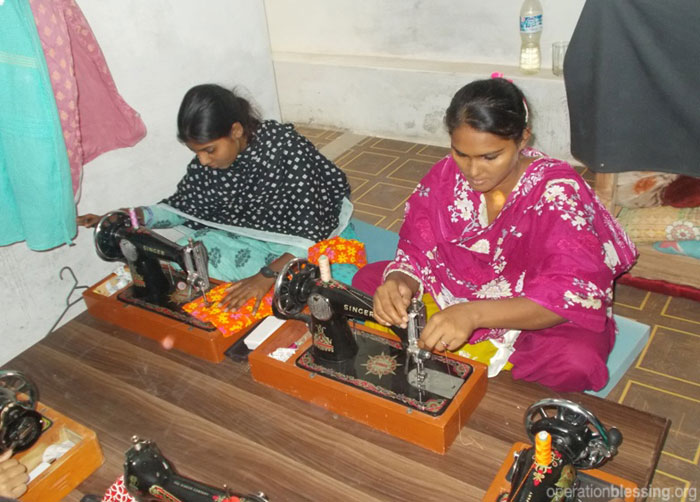A brand new training center that teaches sewing and cosmetology is changing the lives of women in Pakistan