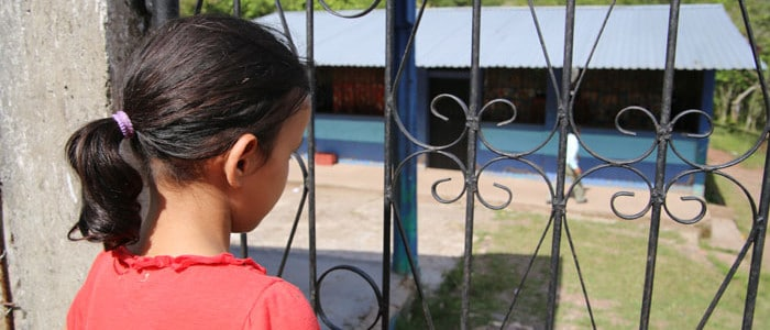 Young Gabriela's freedom is stolen when she accepts a job and finds herself trapped in slavery