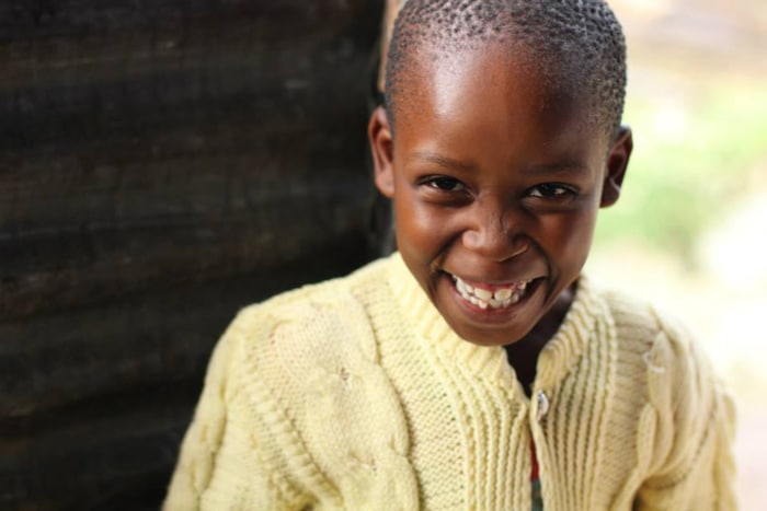 A young girl and her family in the nation of Lesotho overcome hunger through the gift of nutritious food and more from a local Operation Blessing partner