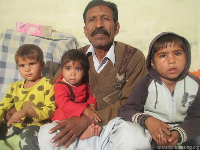 Operation Blessing comes to the aid of three Pakistani orphaned children this Christmas after their parents were martyred
