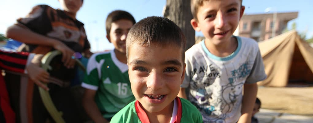 Help refugees in Iraq