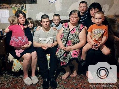 Bringing Hope to Displaced Families in Ukraine
