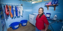 A struggling mother in Peru prayer's are answered with the special blessing of a new home and business
