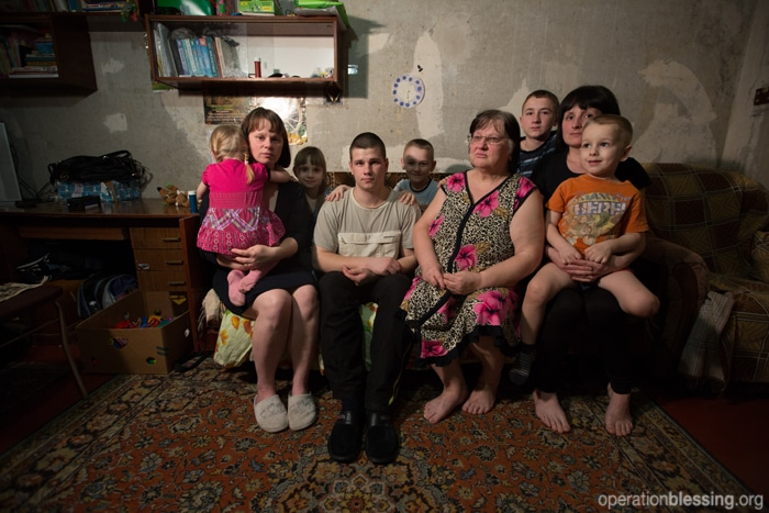Natasha's family lost two brothers due to the conflict in Ukraine