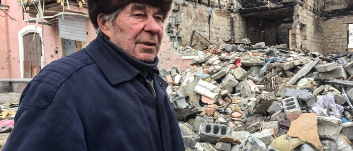 Families in Ukraine are suffering from the ongoing conflict