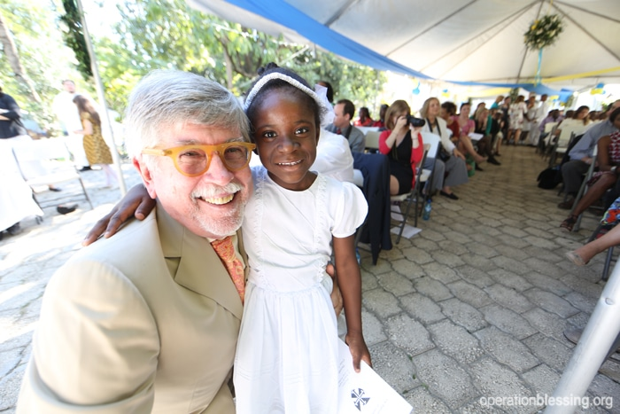 Operation Blessing works hard to provide critical relief and hope for struggling families and vulnerable children all around the world