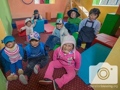 Puno, Peru School Extreme Makeover