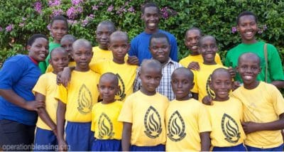 The gift of electricity improves the lives of orphans in Rwanda