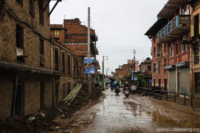 Monsoon rains soak Kathmandu