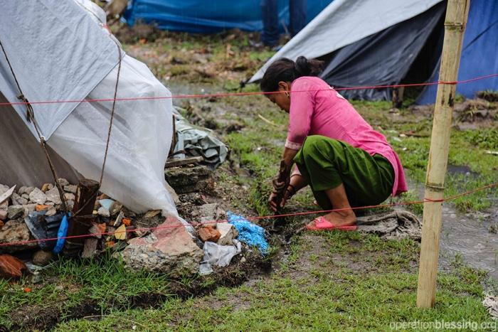 Keeping belongings dry during the monsoon