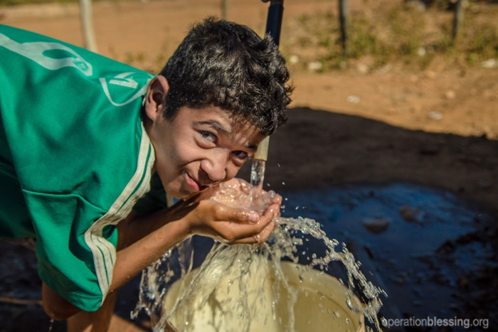 A new safe water source brings hope to a young boy and his drought-stricken community in Brazil