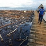 Flood damage in Guatemala