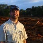 OBI's international manager of water programs, John Bottoms, in Guatemala.