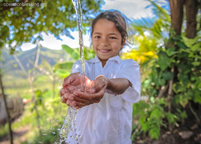 A water project brings hope to a little girl and her struggling community in Honduras