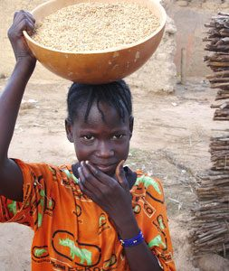 Relief for Niger Famine Victims