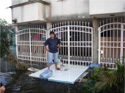 Mexico flood relief