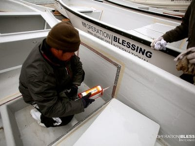 OBI Prepares New Boats for Fishermen in Japan