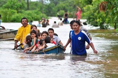 Responding to Tropical Depression in El Salvador