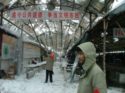 Heavy Snowfall in China