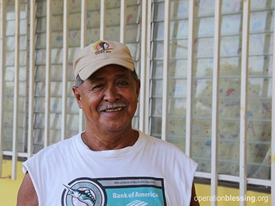 Jose's life has changed thanks to free medicine from Operation Blessing.